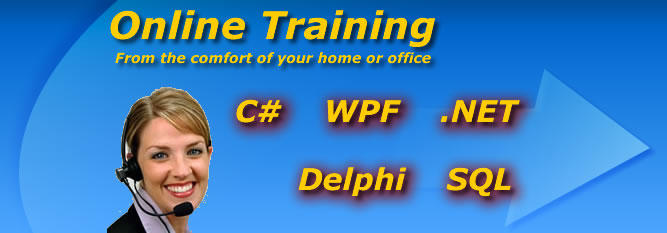 learn C#, WPF, Delphi, .NET, SQL